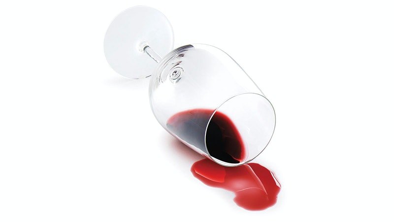 It's OK to Cry Over Spilled Wine