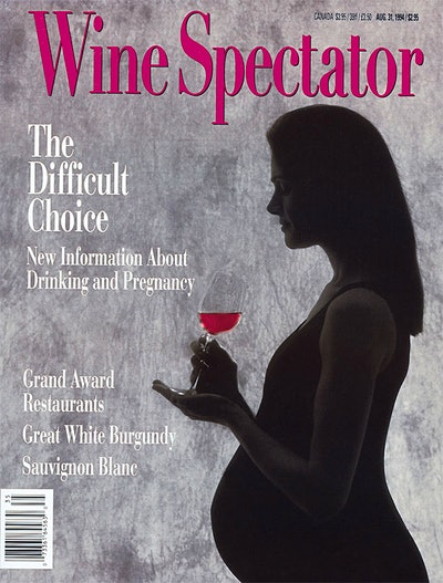 Drinking and Pregnancy / California Sauvignon Blanc