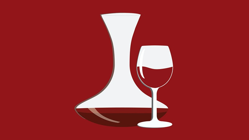What's the difference between a wine aerator and a wine preserver?