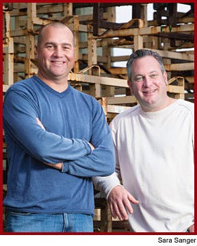 Dan Kosta (left) and Michael Browne